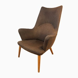 Mid-Century AP27/18 Mama Bear Easy Chair by Hans J. Wegner