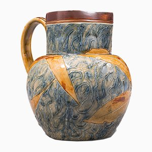 Jarra inglesa vintage de cerámica de Royal Doulton, años 30
