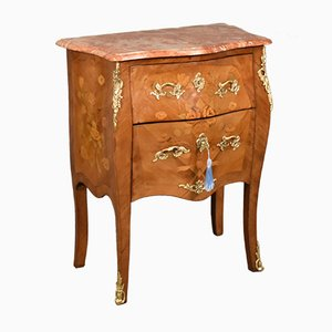 Antique French Louis XV Marquetry Commode