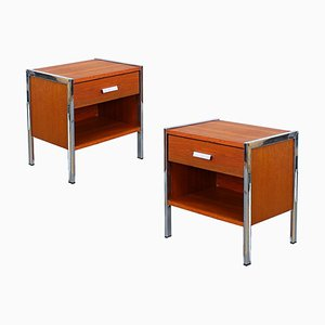 Nightstands by André Cordemeyer & Dick Cordemeijer for Auping, 1960s, Set of 2