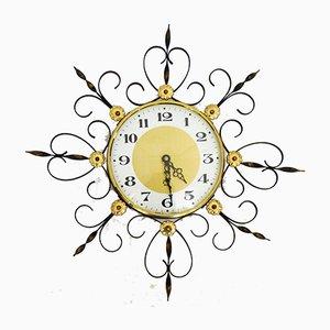 Reloj de pared Japy Sun de hierro forjado modelo 231