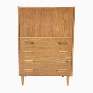Oak Dresser Desk by P. Westergaard Mobelfabrik, Denmark, 1960s