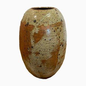 Steingut Vase von Ginette Solorzano