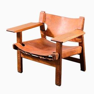 Spanischer Vintage Stuhl von Børge Mogensen für Fredericia, 1950er
