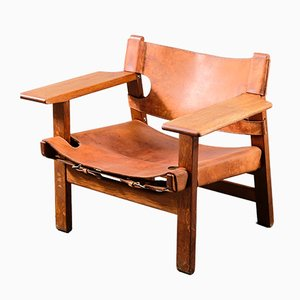 Vintage Spanish Chair by Børge Mogensen for Fredericia, 1950s