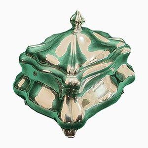 824 Silbernes Kästchen von Hugo Green & Co Oy, Helsinki, 1950er