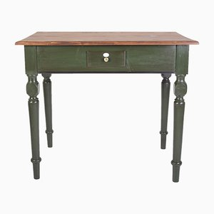 Antique Austrian Folk Card Table, 1900s