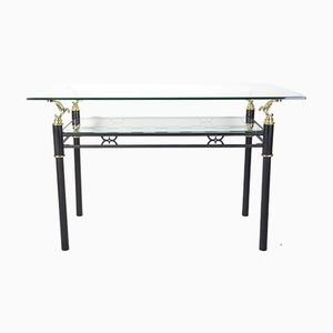 Modern Italian Style Glass Table, 1980s