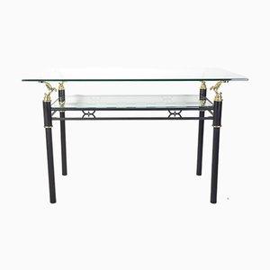 Moderner Glastisch im Italienischen Stil, 1980er