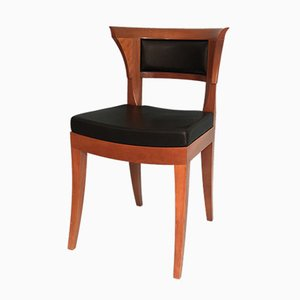 Cherrywood Dining Chairs by Leon Krier for Giorgetti, 1991, Set of 2