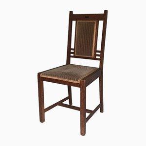Art Deco Eichenholz Stuhl von Pander, 1910er