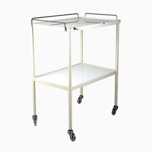 Mid-Century Opaxit Glass Medical Trolley, 1960s