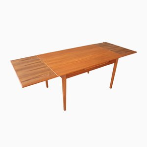 Vintage Extendable Teak Dining Table, 1960s