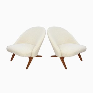 Lounge Chairs by Theo Ruth for Artifort, 1950s, Set of 2
