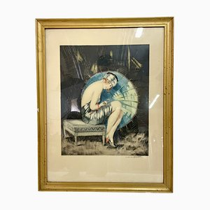 Color Lithograph - William Ablett - 1925