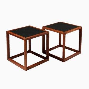 Side Tables by Kai Kristiansen for Aksel Kjersgaard, Denmark, 1960s, Set of 2
