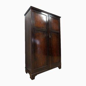Antique Edwardian Mahogany Gentleman's Compactum Valet Wardrobe