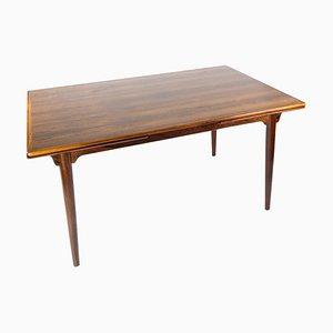 Mesa de comedor de palisandro con extensiones de Arne Vodder, años 60