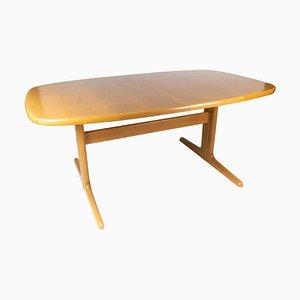 Mesa de comedor danesa de roble de Skovby Furniture Factory