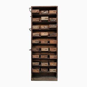 Industrieller Vintage Schubladenschrank