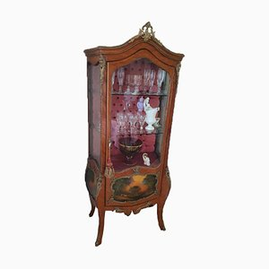 Baroque Wooden Display Cabinet