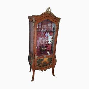 Baroque Wooden Display Cabinet