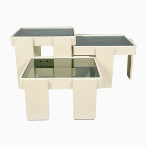 Nesting Tables by Gianfranco Frattini for Cassina, 1960s