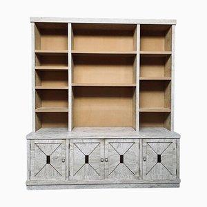 Veneered Travertine Bookcase, 1970s