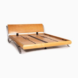 192 Letto Wooden Double Bed from WK Wohnen