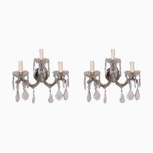 Maria Theresa Style Sconces, Set of 2