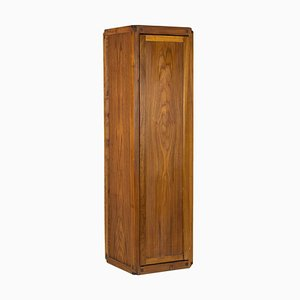High Storage Cabinet in Natural Elm by Pierre Chapo, 1979
