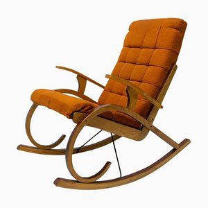 Bentwood Rocking Chair, Czechoslovakia, 1960s