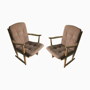 Eastern Bloc Armchairs, 1960s, Set of 2