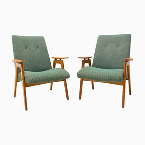 Armchairs by Jaroslav Šmídek for Jitona, 1960s, Set of 2
