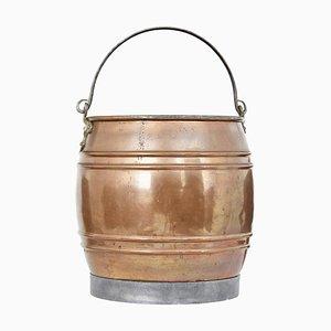 Late 19th Century Copper Bucket