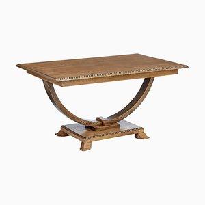 Scandinavian Oak Side Table