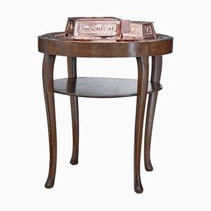 Mesa bandeja de cobre, finales del siglo XIX