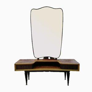 Consolle con specchio, anni '60