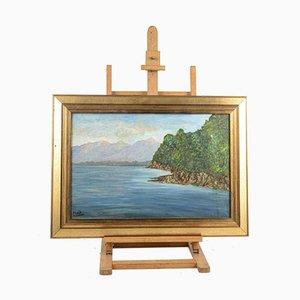 Luis Framework Signed Oil on Canvas 80