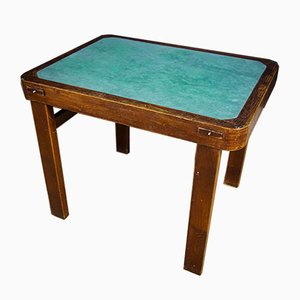 Art Deco Chart Table with Ashtrays, 1930s