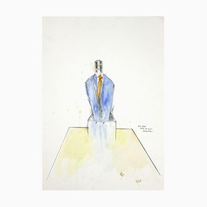The Boss - Original Tinte und Aquarell von Sergio Barletta - 2012
