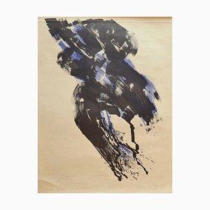 Composition - Original Lithograph by Danilo Bergamo - 1963