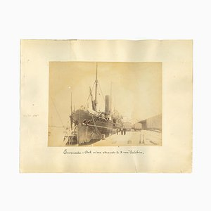 Sconosciuto, Ancient View of the Port of Ensenada Mexico, Photo, 1880s