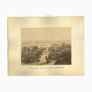 Unknown, Ancient View of Buenos Aires, Argentina, Photo, 1880s, Set of 2