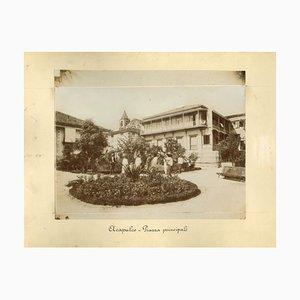 Sconosciuti, vedute antiche di Acapulco, foto, 1880 circa, set di 2