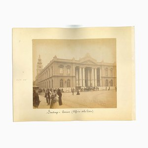 Unknown, Ancient Views of Santiago, Chile, Photo, 1880s, Set of 2