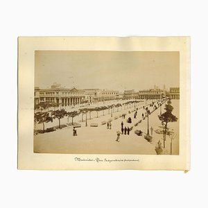 Inconnu, Ancient View of Montevideo, Photo, 1880s, Set of 2
