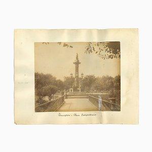 Sconosciuto, Ancient View of Conception, Chile, Photo, 1880s