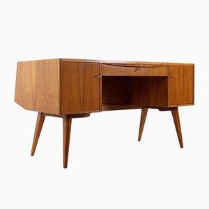 Moderner Nussholz Schreibtisch von Franz Ehrlich für Dewe
