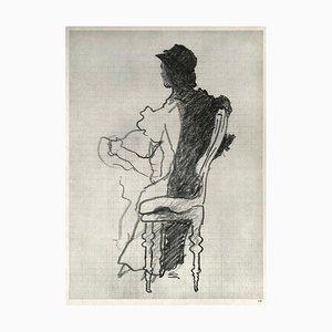 Retrato del artista de Georges Braque